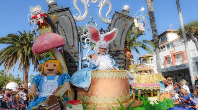 Se celebró el Coso apoteósis del Carnaval 2020 del Puerto de la Cruz