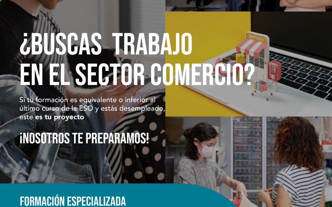 """BECA GARANTIZADA, PRÁCTICAS EN EMPRESA, ACOMPAÑAMIENTO EN LA BÚSQUEDA DE EMPLEO: """"Nuevas Competencias en Retail""""."""